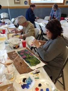 artist retreat-painting class