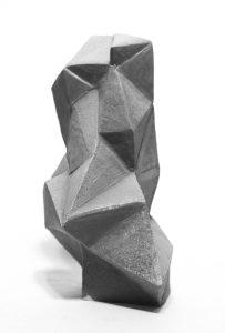 "John Larson, Untitled, Anagama fired native clay, 5"" x 7"" x 20"", 2016"
