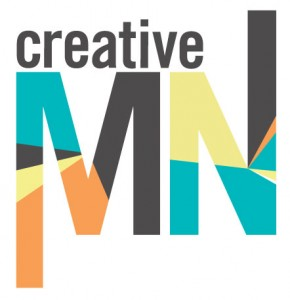 Creative MN logo, just those words.