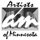 Artists of Minnesota logo, all just words.