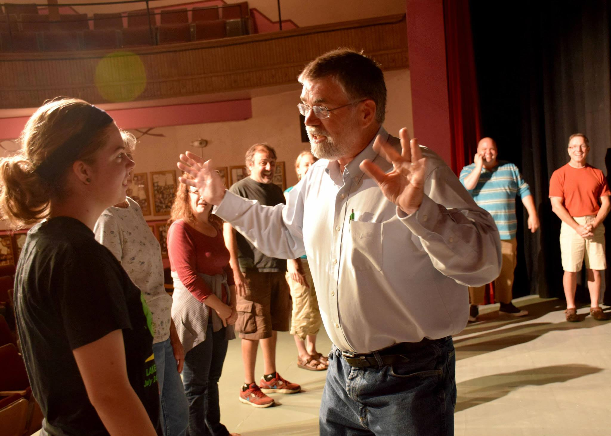 Picture from workshop at Lake Benton Opera House