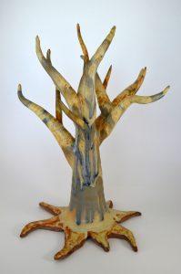 Pottery tree by Kylie Rieke