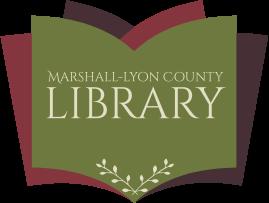Marshall Lyon County Library logo.