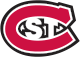 Logo for St. Cloud State University, large red