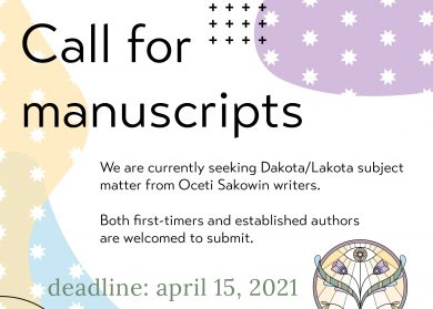 wiyounkihipi.com Call for manuscripts. We are currently seeking Dakota/Lakota subject matter from Oceti Sakowin writers. Both first-timers and established authors are welcome to submit. deadline: april 15, 2021. wiyounkihipi we are capable.