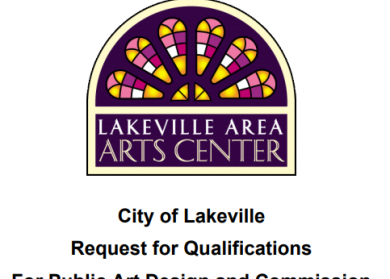Lakeville Area Arts Center. City of Lakeville Request for Qualifications For Public Art Design and Commission.