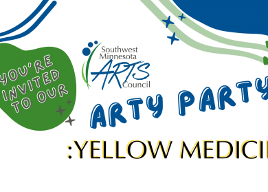 You're invited to our Arty Party: Yellow Medicine
