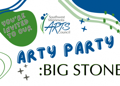 You're invited to our Arty Party: Big Stone