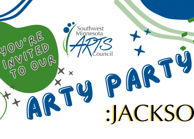 You're invited to our Arty Party in Jackson